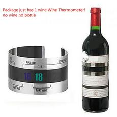 winebottlethermometer, Steel, Joyería de pavo reales, Sensors