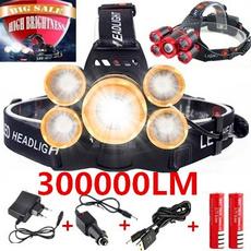 ledheadlamp, Flashlight, Head, Outdoor