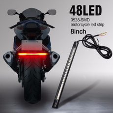 led, motorbike, lights, signal