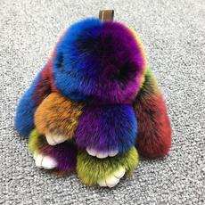 Key Chain, Jewelry, Colorful, fur