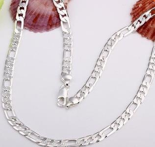 punk necklace, Crystals Necklace, 925 silver necklace, Designer Jewelry