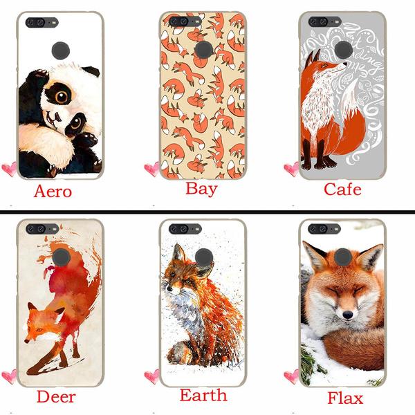 210TE Cute animals fox Hard Case for Huawei P20 Pro P10 P9 P8 Lite Mini P Smart 2015 2016 2017 Cover Coque | Wish