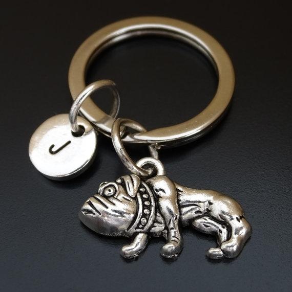 handstampedkeychain, customkeychain, Key Chain, Jewelry