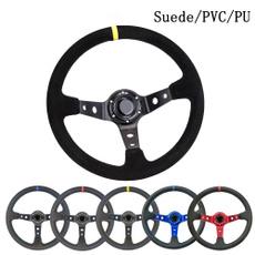 suedesteeringwheel, ompsteeringwheel, racingsteeringwheel, Cars