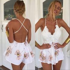 Sleeveless dress, pushupdre, clubwear, jumpsuitromper