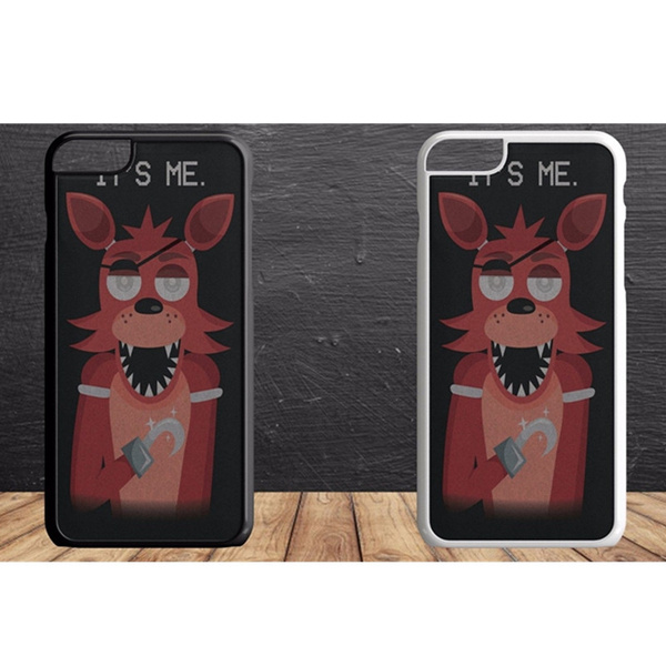 FNAF Five Nights At Freddys It's Foxy phone Case Cover iPhone 4 5 6 7s plus 8 X case Samsung Galaxy S6/S7/S8 | Wish