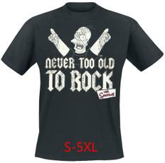 nevertoooldtorocktshirt, thesimpsonstshirt, Deadpool, felpedonna