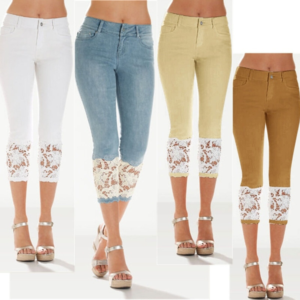 Summer, Leggings, Shorts, Lace