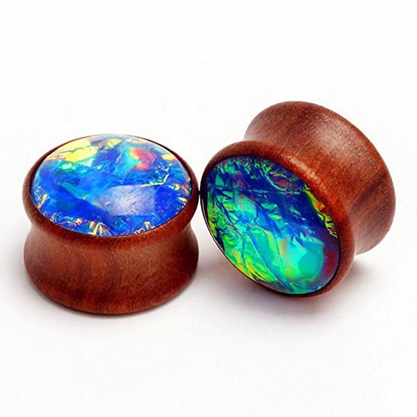 Wood, woodearplug, Jewelry, earexpander