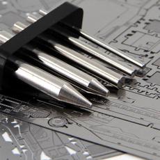 Steel, multipurposetool, circularcolumn, nanopuzzle