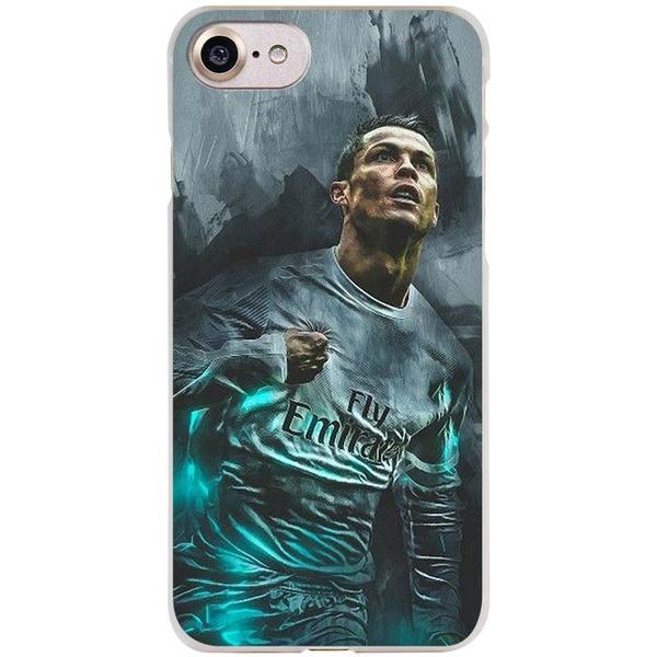 Cristiano Ronaldo Cr7 for Apple Iphone 5 5s SE 5C 6 6s 6plus 6splus 7 7plus X 8 8plus Purpose Cover Fundas Transparent Silicone Coque   Wish