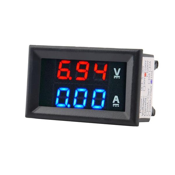 Blues, carvoltmeter, led, ledvoltmeter
