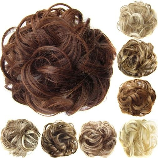 Synthetic, Hairpieces, Cosplay, Curly