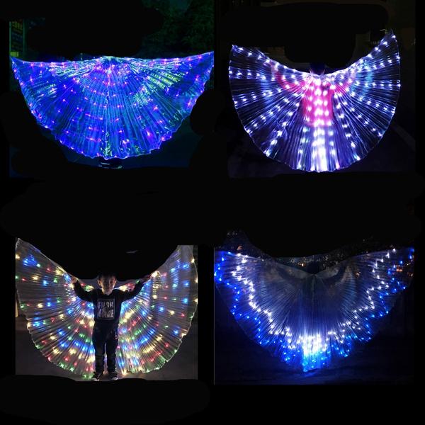 light up, crown, lights, led