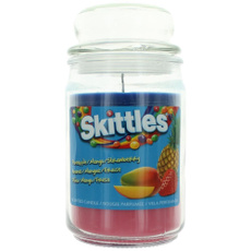 Candle, (makeup) (beauty), Jars, skittle