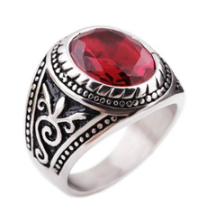 Steel, Fashion Jewelry, antiquering, Medieval