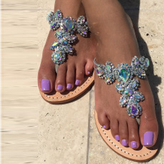 Summer, Sandals, Women Sandals, Thong