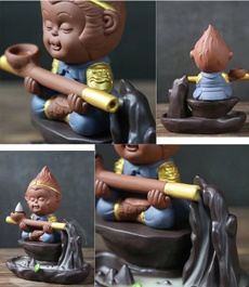 Home & Kitchen, ceramicburner, monkey, porcelainburner