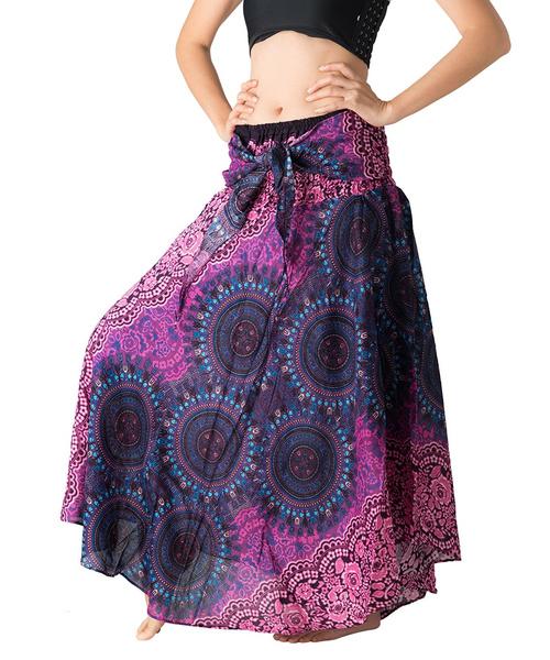 Flowers, hippie, maxi skirt, Dress
