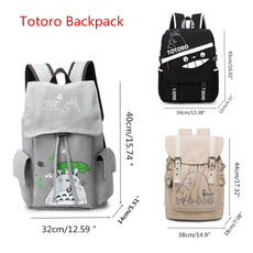 travel backpack, My neighbor totoro, School, casualbackpack
