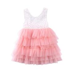 Baby Girl, Lace, long tutu skirts, Dress