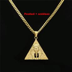 Steel, golden, hip hop jewelry, Jewelry