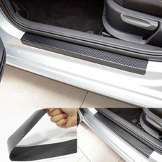 Car Sticker, Fiber, Door, carbon fiber