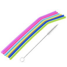 coffeespoon, drinkingstraw, Colorful, Silicone