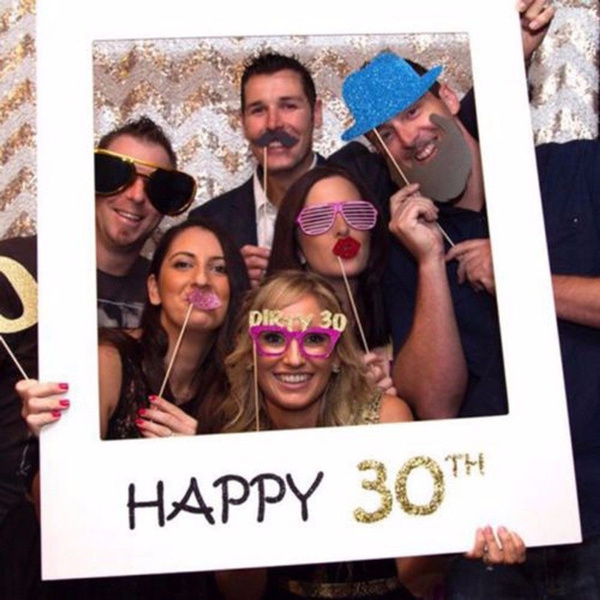 anniversaire, 161830405060th, birthdaypartyprop, birthdayphotoframe