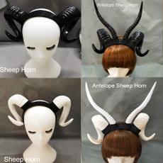 Sheep, sheephornhairclip, Head Bands, Cosplay