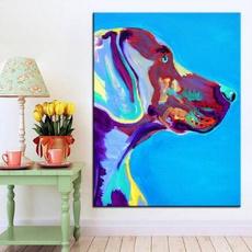 oilpaintingpint, Blues, art, canvasposter