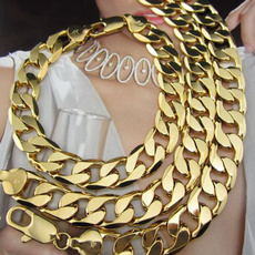 thickchain, Heavy, 18k gold, heavynecklace