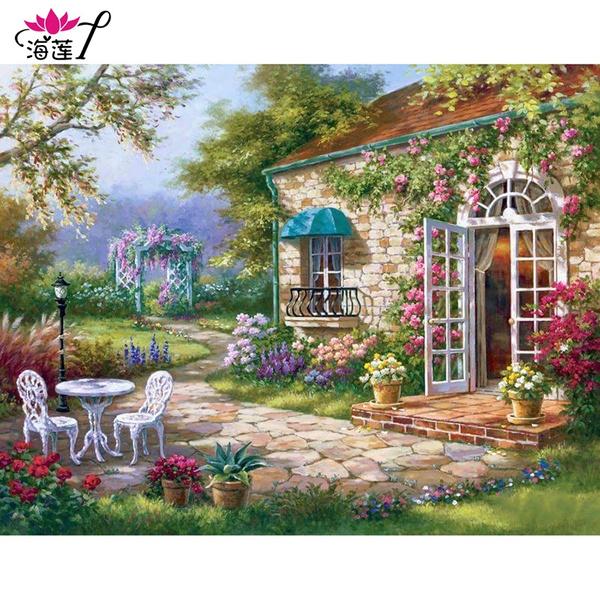 DIAMOND, Garden, Wallpaper, Cross