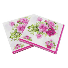 decoration, Flowers, Mats, tissue