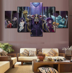 decoration, canvasprint, overlord, art