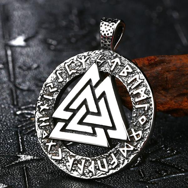 Fashion, Triangles, Jewelry, mjolnir
