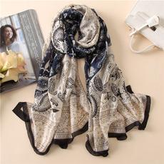 Women, Scarves, women scarf, silk