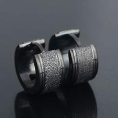 Mens Earrings, Steel, Stainless Steel, stainless steel earrings
