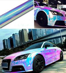 Car Sticker, diy, rainbow, carfilm
