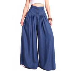 Women S Clothing, denimlook, high waist, pantsforwomen