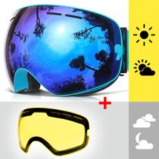 skiingsnowboarding, Ski Goggles, UV Protection Sunglasses, Sports Outdoor Sunglasses
