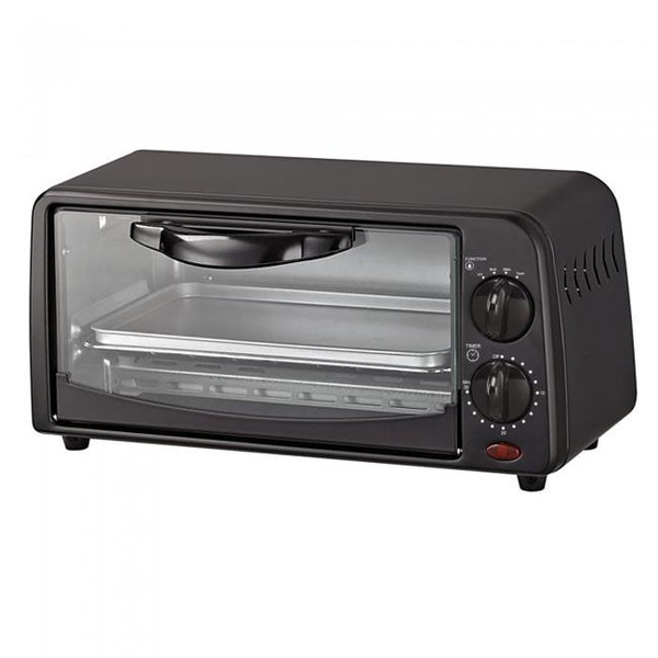 toaster, black, oven, microwave