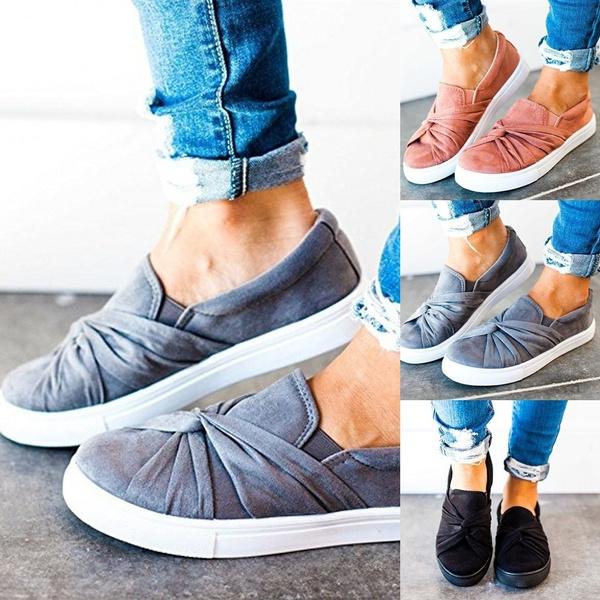 Flat Shoe Casual Non Slip Shoe Ladies