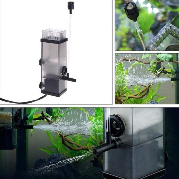 Aquarium Pump Surface Skimmer To Remove Oil Smooth Oil Film Remover Water Skimmer Pump For Fish Tank Water Filter Pump Wish