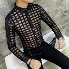 plaid, Shirt, gay, Long sleeved
