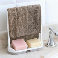 Bathroom, Towels, soapholder, sinkstoragerack