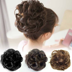 wig, hairextensionsandwig, scrunchie, hairbun