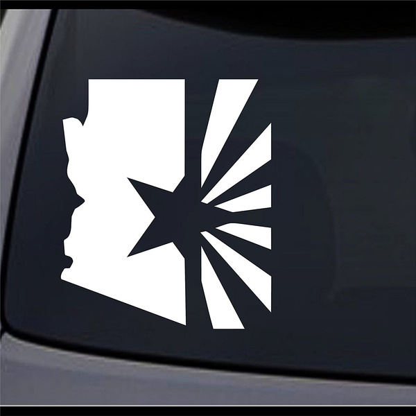 Map, Arizona, 33, Stickers