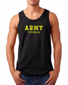 mensslimtshirt, armyveteran, Tank, Shirt