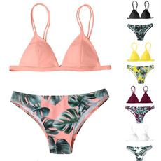 Summer, Fashion, leaf, bathing suit